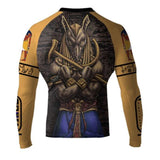 Raven Fightwear Rash Guard Men's Gods of Egypt Seth