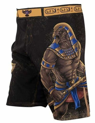 Raven Fightwear Fight Shorts Men's Gods of Egypt Horu