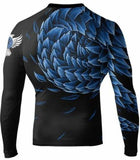 Raven Fightwear Rash Guard Power Pangolin Men's