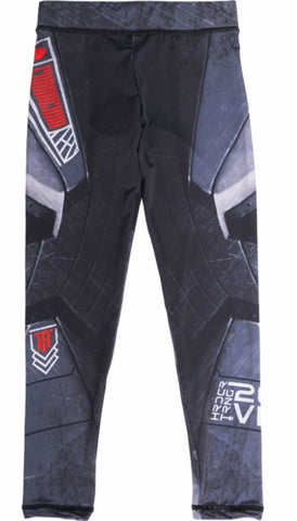 Hardcore Training Compression Pants Kids Cyber 2.0