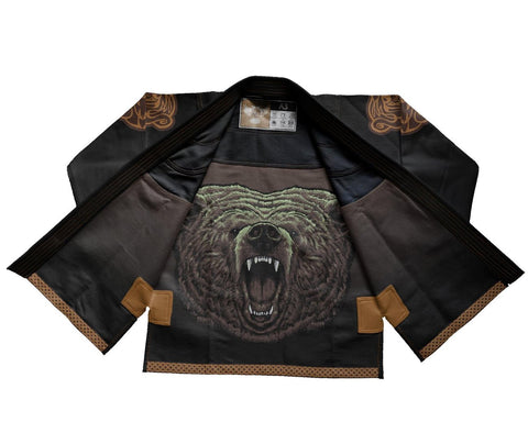 Raven Fightwear BJJ Gi Berserk Black Men's