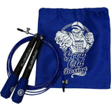 Jump Rope Hardcore Training Blue - Workout Boxing MMA Fitness Training Crossfit - For Men Women