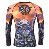 Tatami Fightwear Cyber Samurai Panda Rash Guard Men's