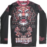 Hardcore Training Tiger Rash Guard Kids