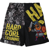 Hardcore Training Doodles Boxing Shorts Kids