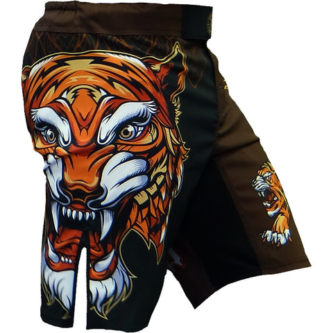 Hardcore Training Tiger Fight Shorts Men's