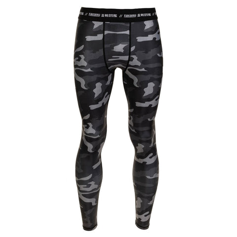 Tatami Fightwear Compression Pants Rival Black And Camo Men's