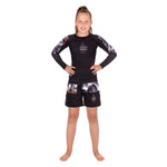 Tatami Fightwear Kids Tropic Black Grappling Shorts