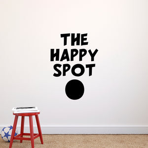 "The Happy Spot - 23"" x 32"""