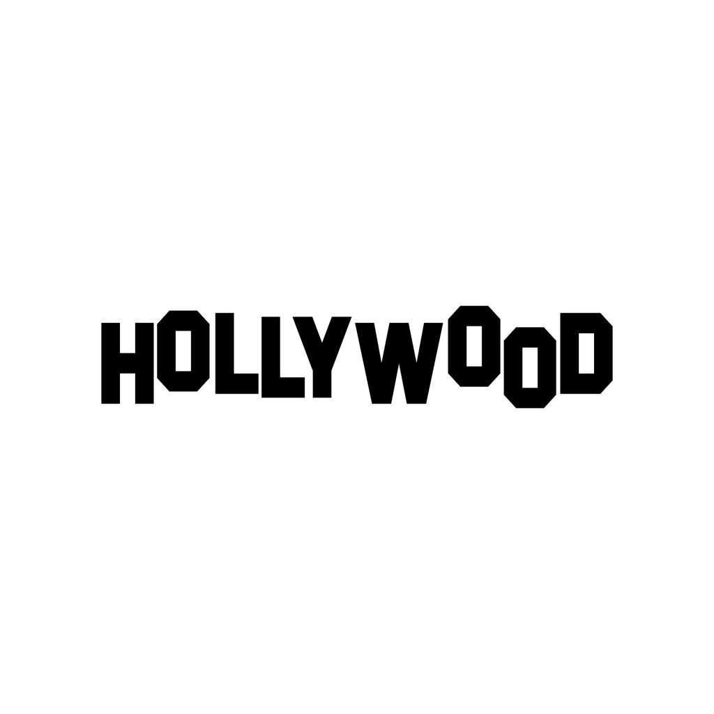 "Pulse Vinyl Hollywood Sign- Wall Art Decal 6"" x 30"" Home Decoration Wall Art - Bedroom Living Room Wall Decor - Trendy Wall Art 660078089477"