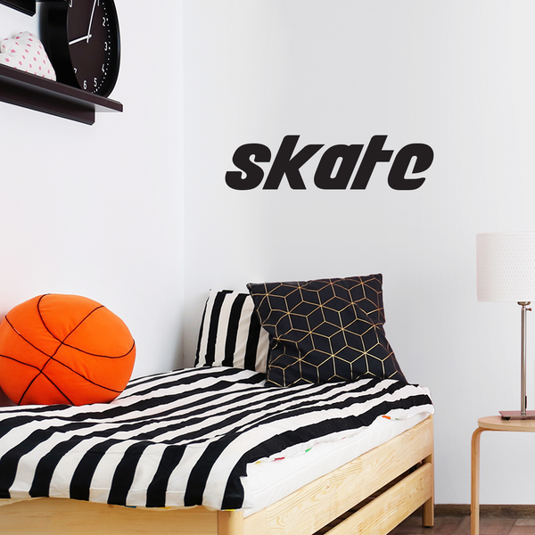 Skate Vinyl Wall Art Sticker Decor - 14