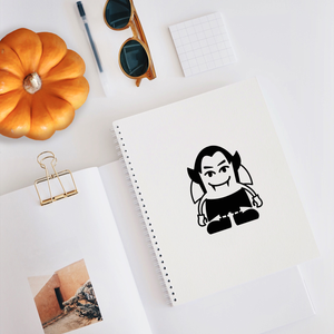 "Cute Little Vampire - 5"" x 4"" - Spooky Halloween Season Decoration Sticker"