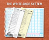 15-Batter 10-Inning Scorebook with Write Once System