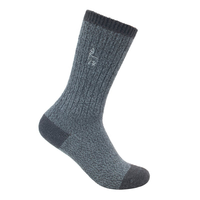 Alpaca Heather Grey Pakaboo Sports Socks
