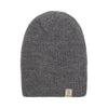 Alpaca Beanie - Dark Grey / Charcoal