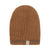 Alpaca Beanie - Terracotta with Grainy Mustard