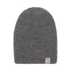 Alpaca Beanie - Purple / Grey