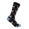 Alpaca Socks - Funky Black