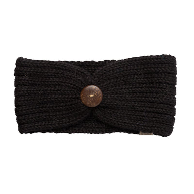 Alpaca Black Headbands
