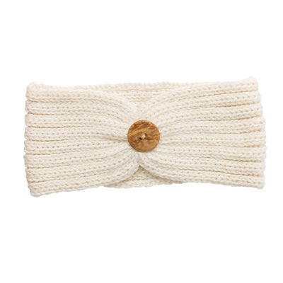 Alpaca White Headbands