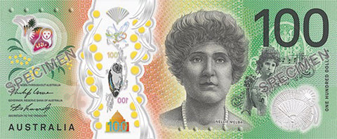 New $100 Bank Note with 'Tactile Feature'
