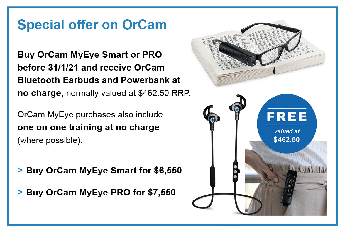 Special offer: free earbuds and powerbank
