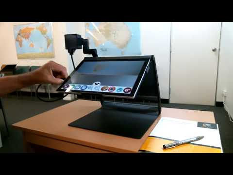 Mercury 12 Pro 5 Laptop Tablet Magnifier with OCR Speech
