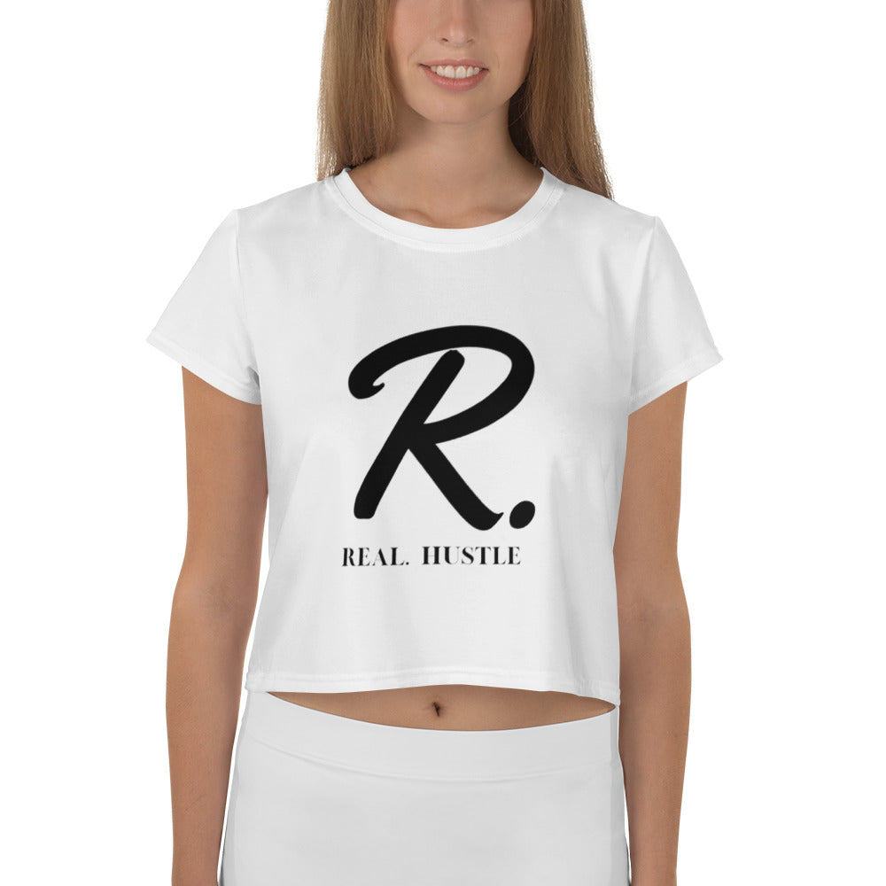 Real. Hustle Crop Tee