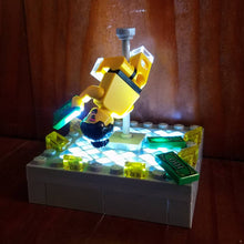 Load image into Gallery viewer, Light-Up Stripper Lego set