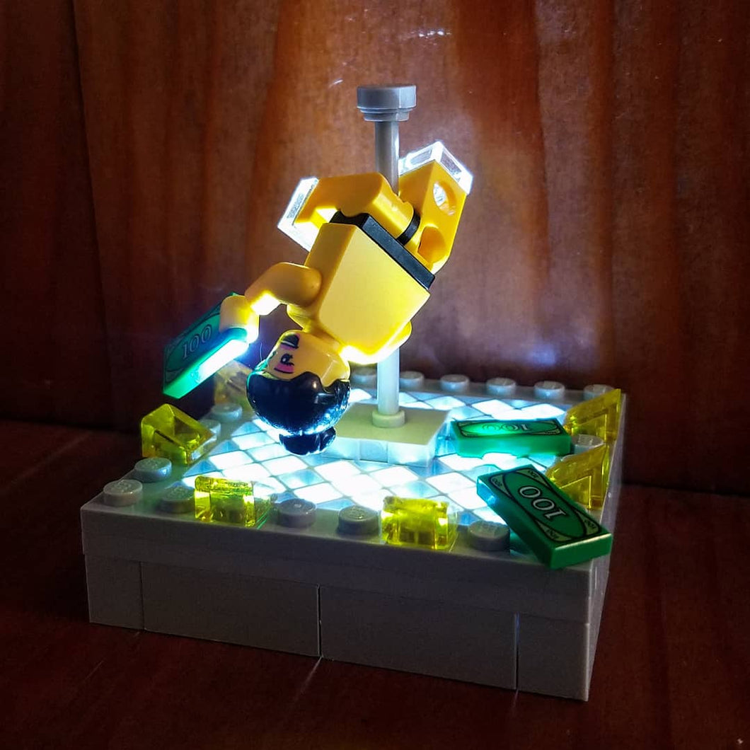 Light-Up Stripper Lego set