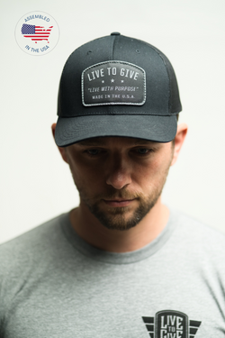 Live to Give: Blackout Hat