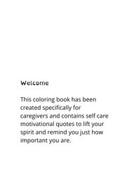 Self Care Coloring Book - Inspirational Quotes: Daily Encouragement
