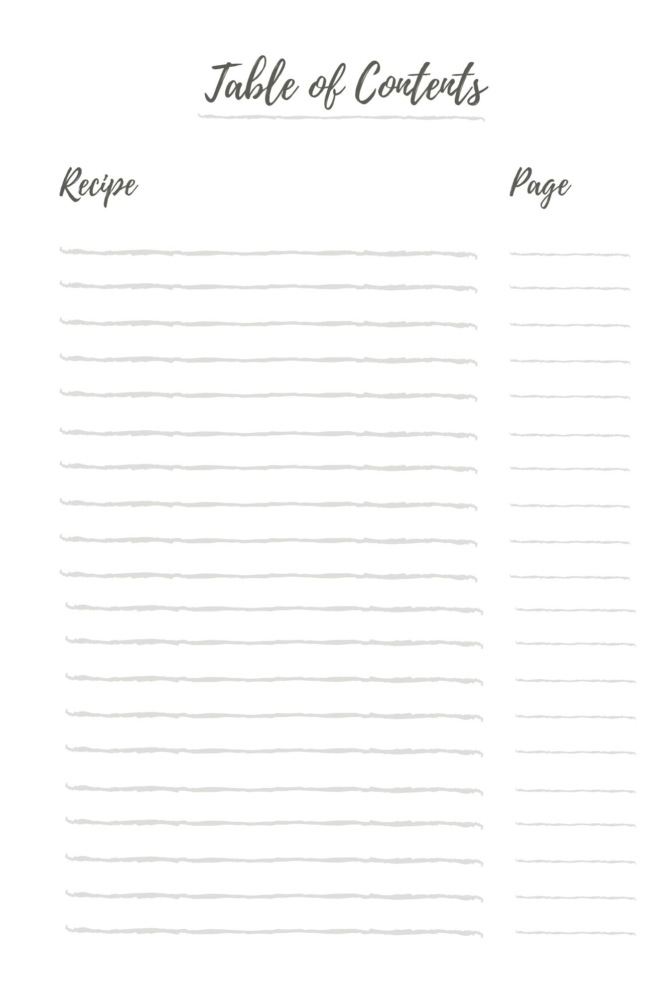 My Fave Recipes: Blank Recipe Book to Write in - Create Your Own Collection of Your Own Favorite Recipes