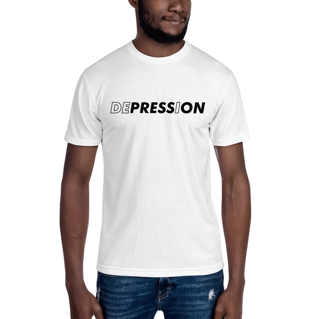 Depression mens t-shirt