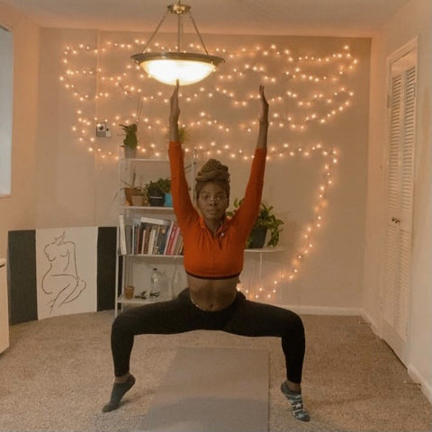 Yoga for Black women to reduce stress Love YU Collective