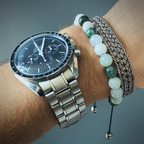 mens watch and bracelet
