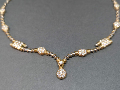 Stunning Diamond Necklet