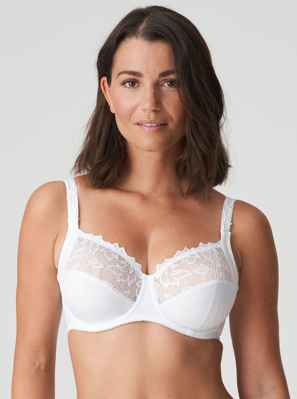 Deauville Full Cup Bra - White
