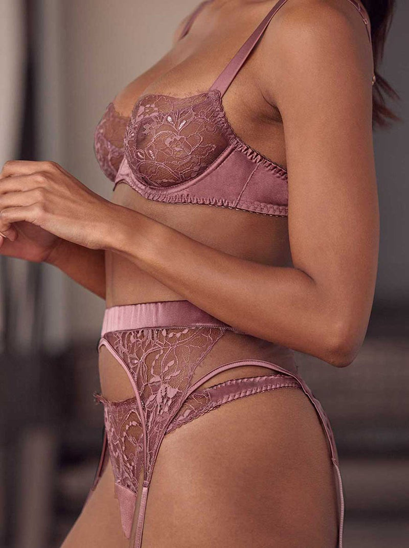 Bisou Balcony Bra - Winter Plum