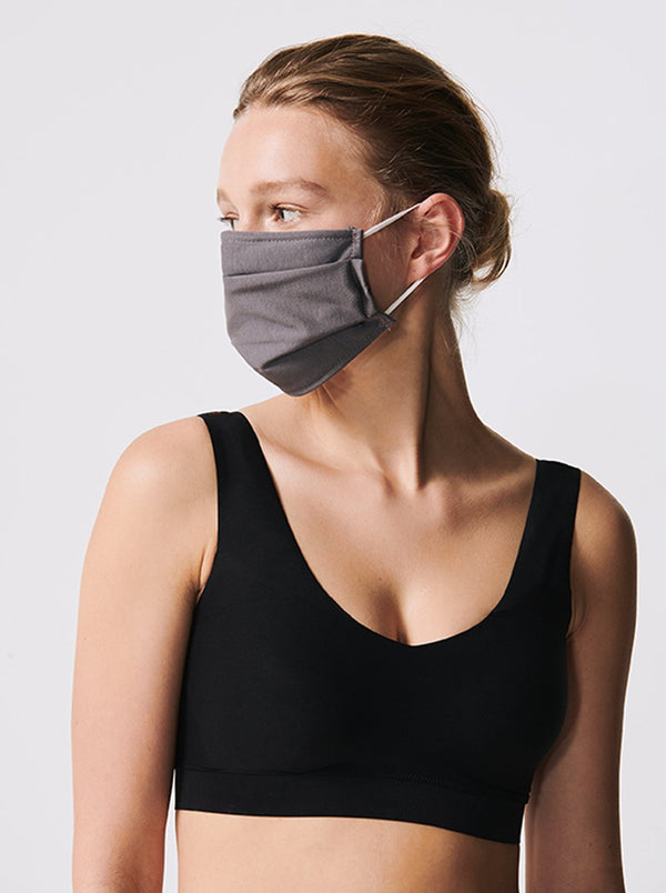 Cotton face mask - Grey