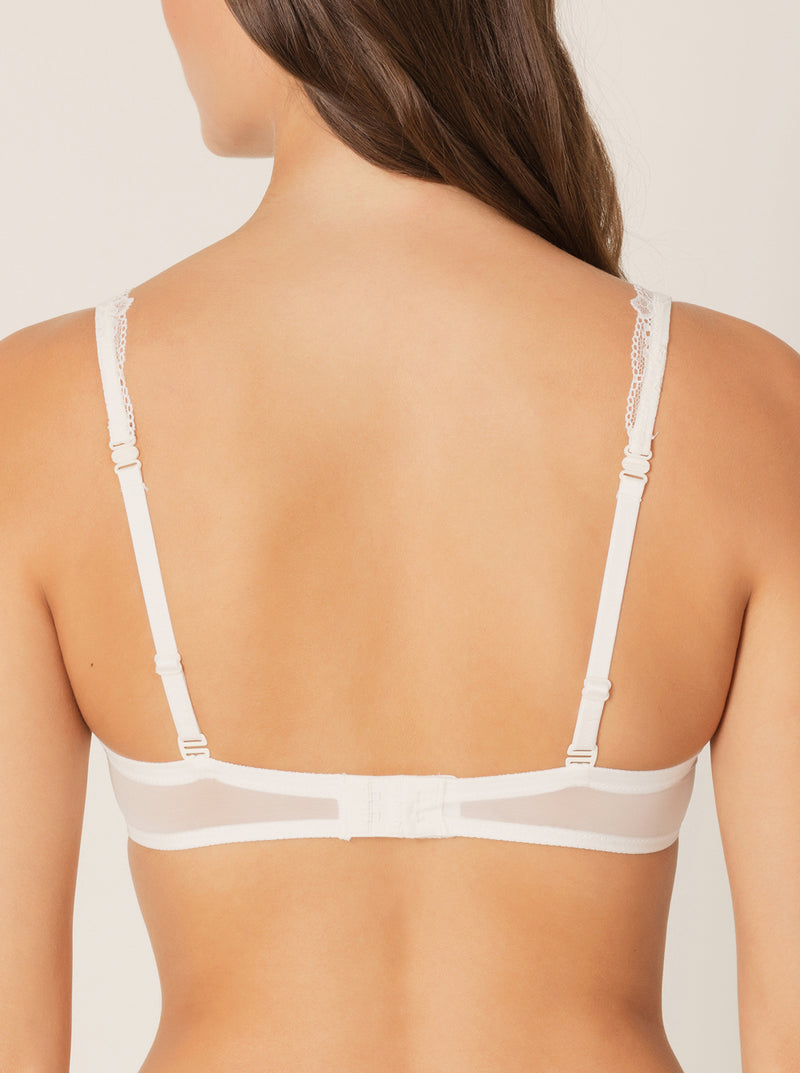 Ray Triangle Bra - Natural