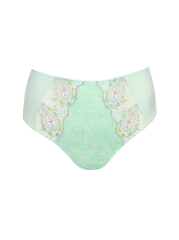 Prima Donna Alalia paisley-print high-rise full briefs in Spring Blossom