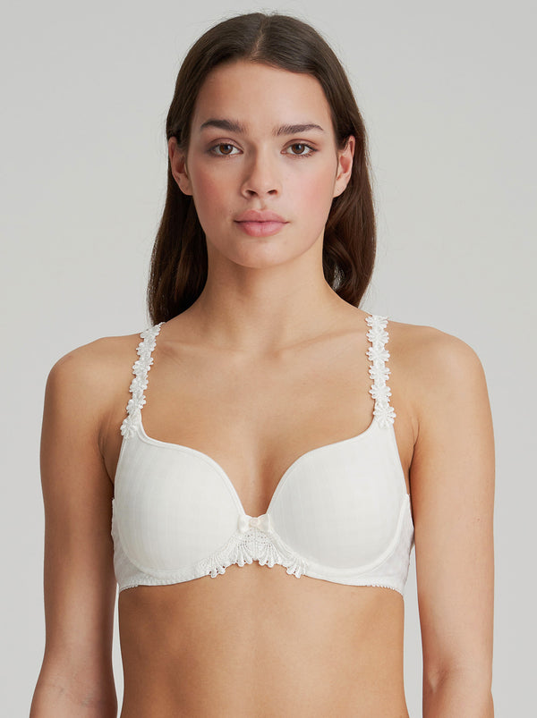 Avero Padded Heart Shape Bra - Natural