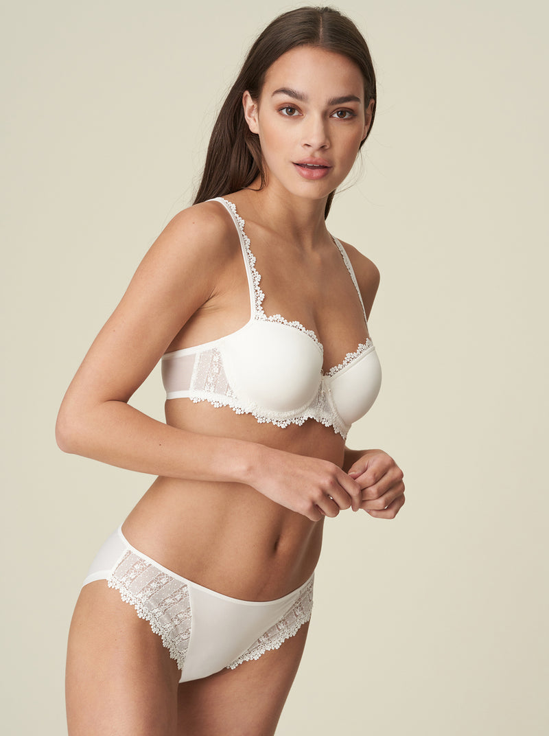 Christy Balcony Bra - Natural