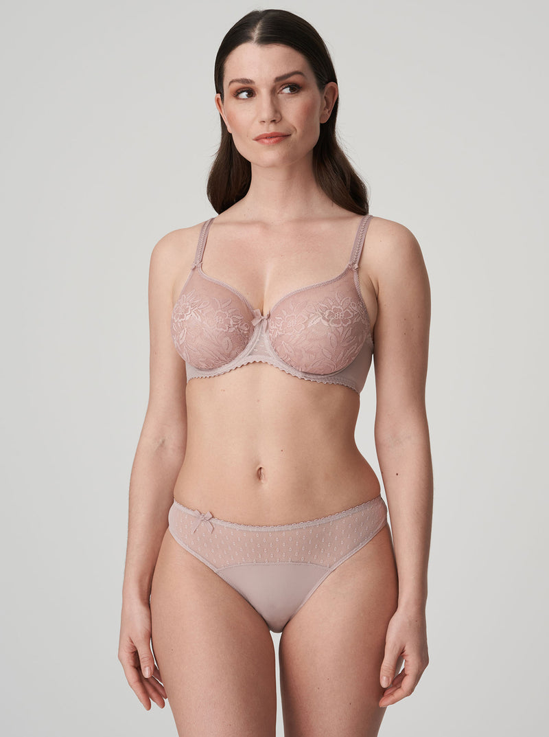 Divine Lace Full Cup Bra - Patine