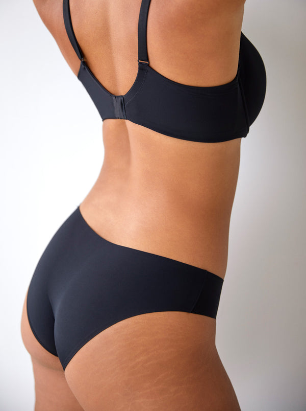 Prima Donna Figuras Rio seamless mid-rise briefs in Black