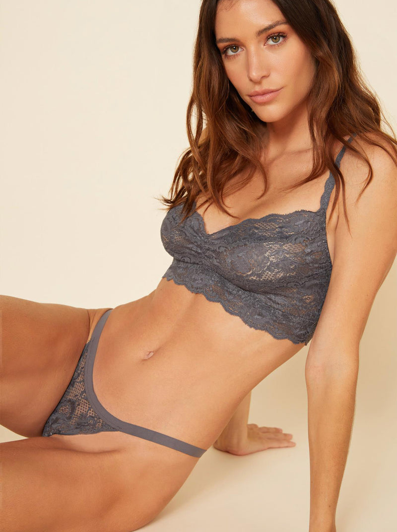 Never Say Never Sweetie Soft-Cup Bra - Anthracite