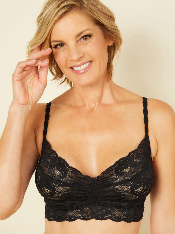 Never Say Never Sweetie Soft-Cup Bra - Black