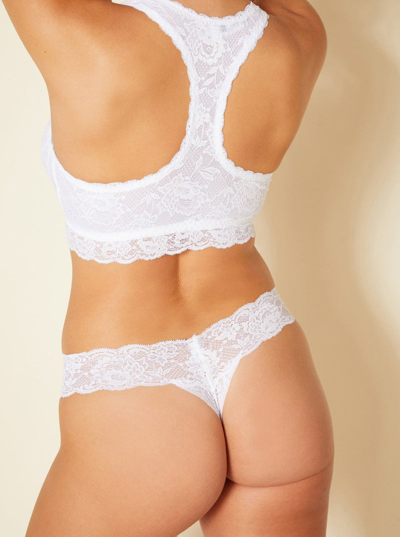 Never Say Never Cutie Thong - White