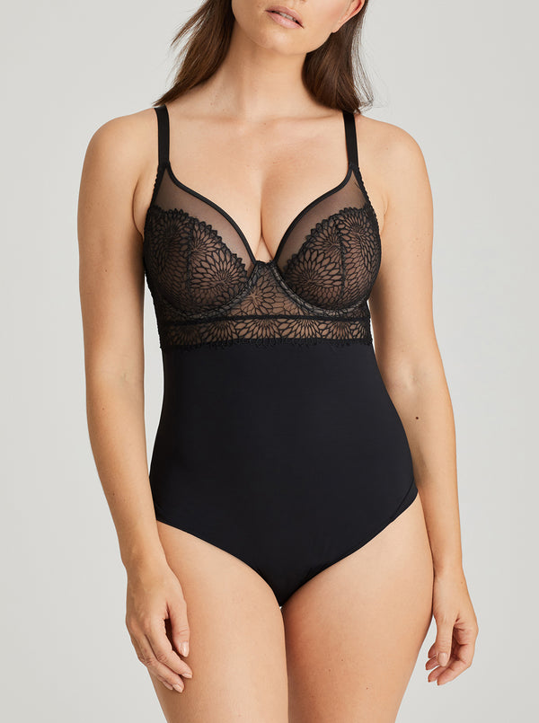 Sophora Underwired Bodysuit - Black